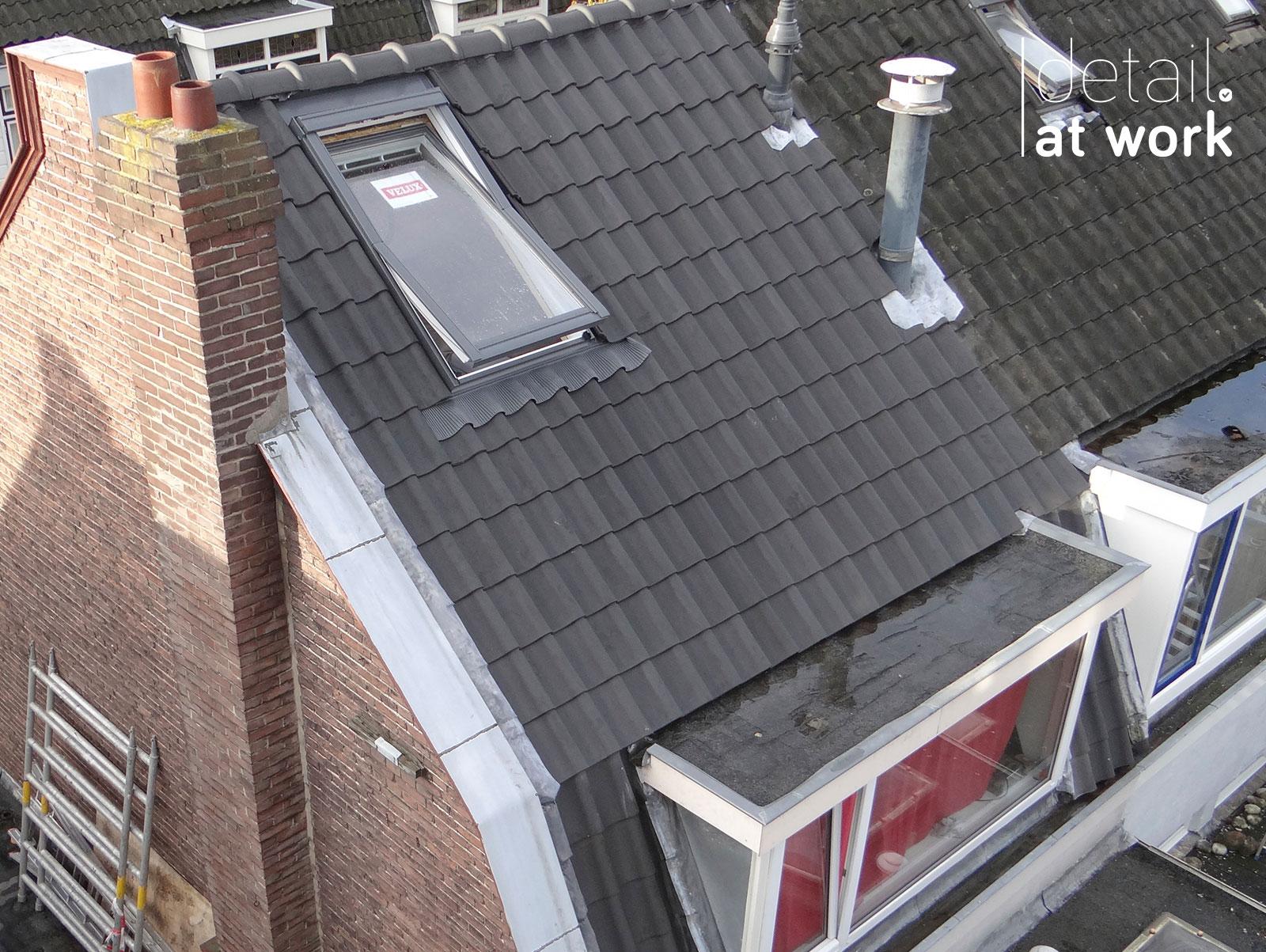 Dakwerk Goedestraat Utrecht